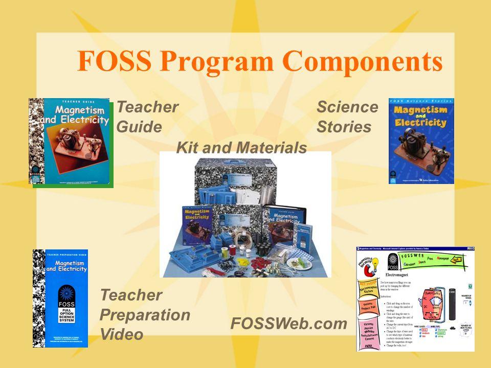 FOSS Program Components
