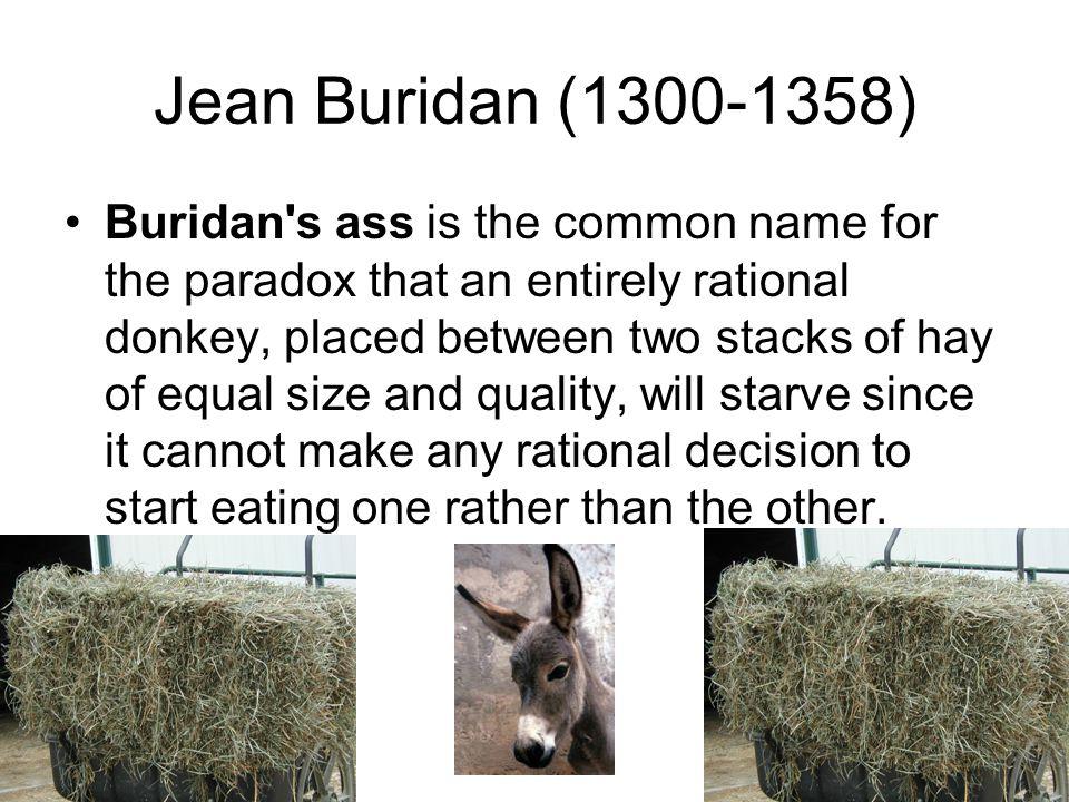 Jean Buridan (1300-1358)