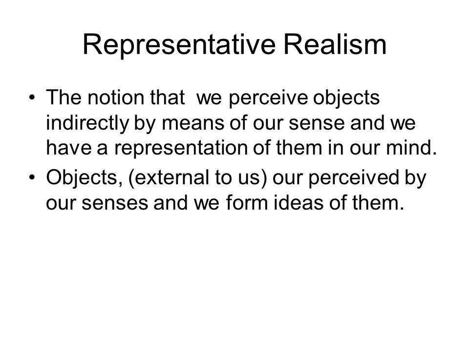 Representative Realism
