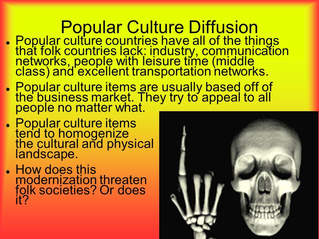 Popular Culture Diffusion