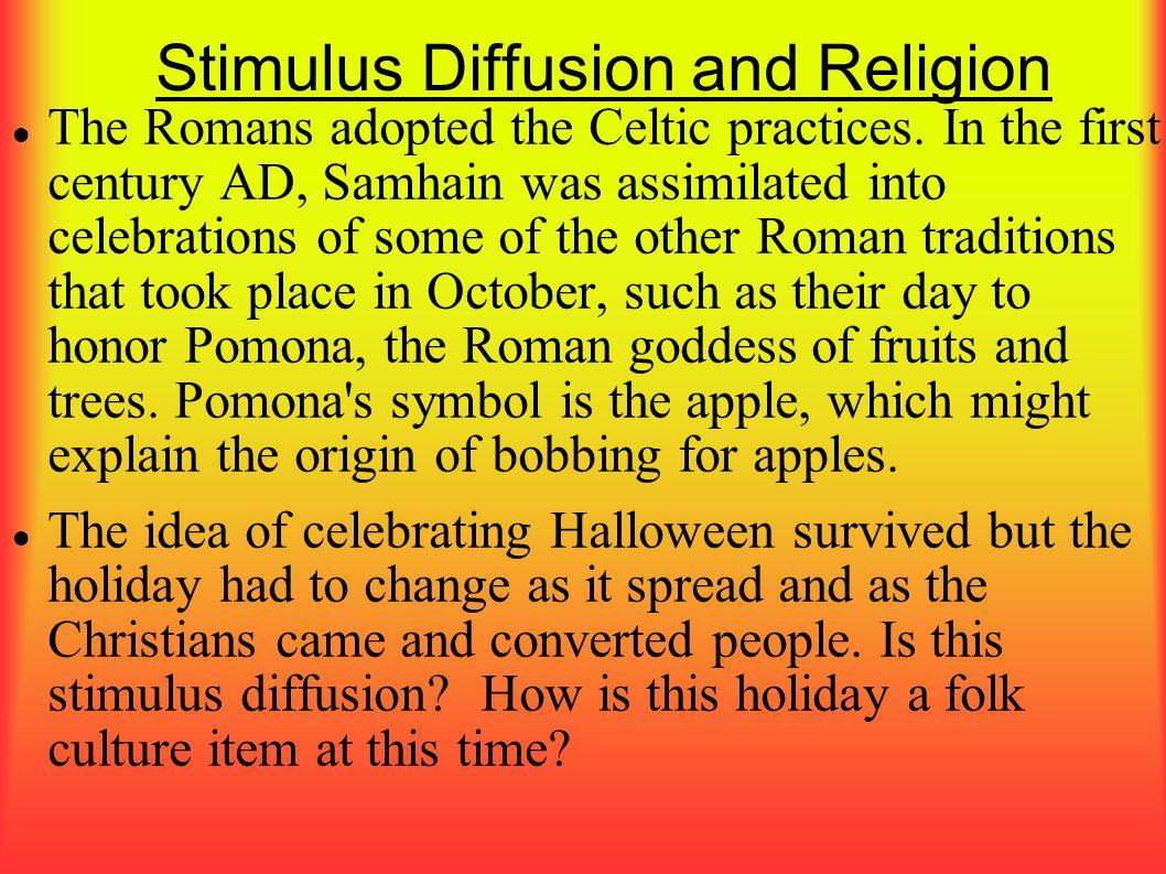 Stimulus Diffusion and Religion