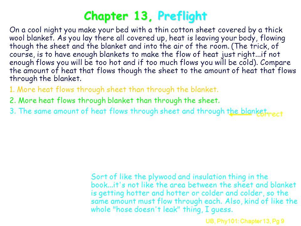 Chapter 13, Preflight