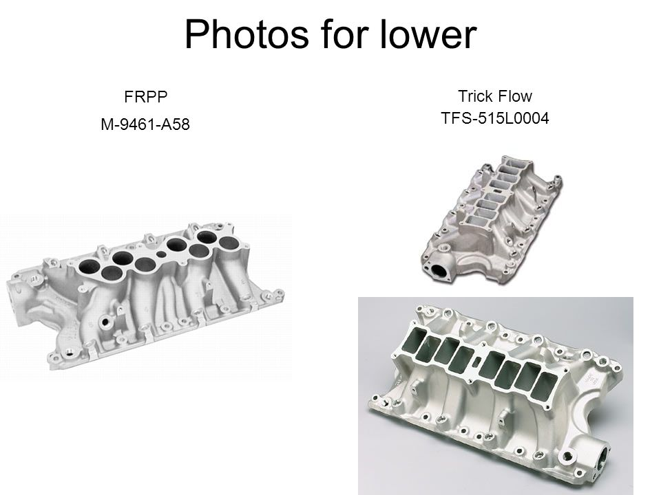 Photos for lower FRPP Trick Flow TFS-515L0004 M-9461-A58