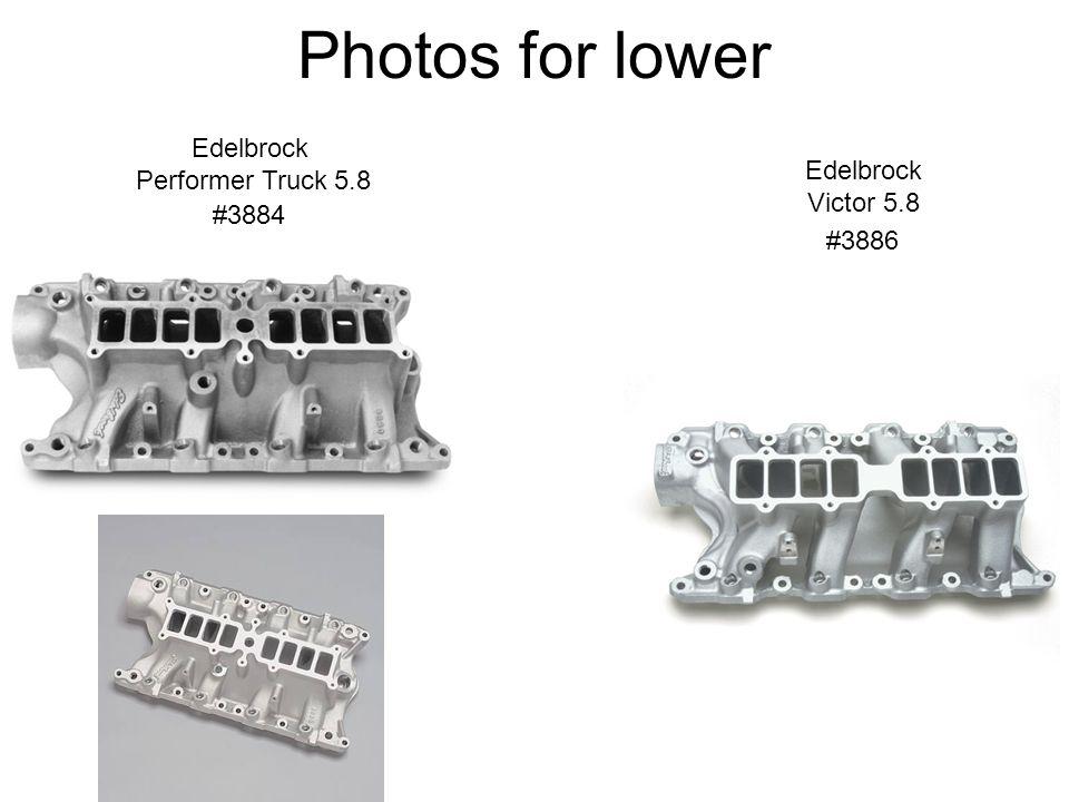Edelbrock Performer Truck 5.8