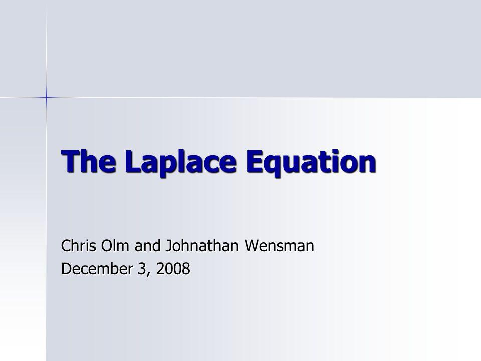 Chris Olm and Johnathan Wensman December 3, 2008