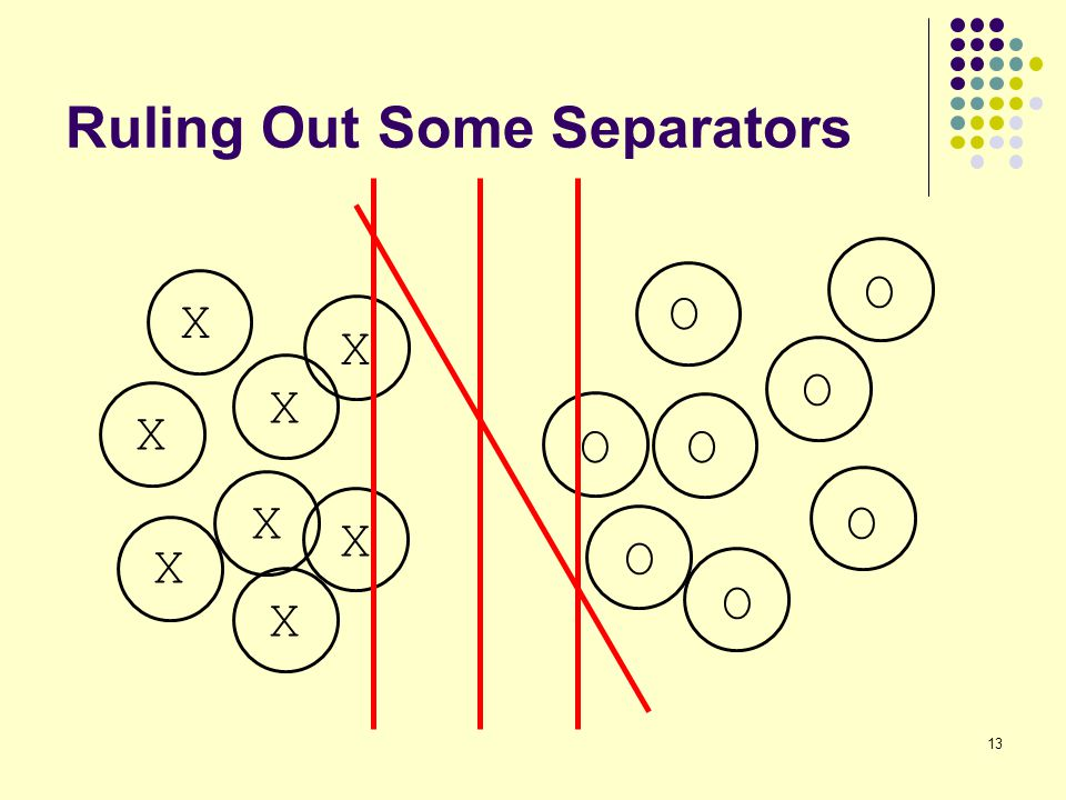 Ruling Out Some Separators