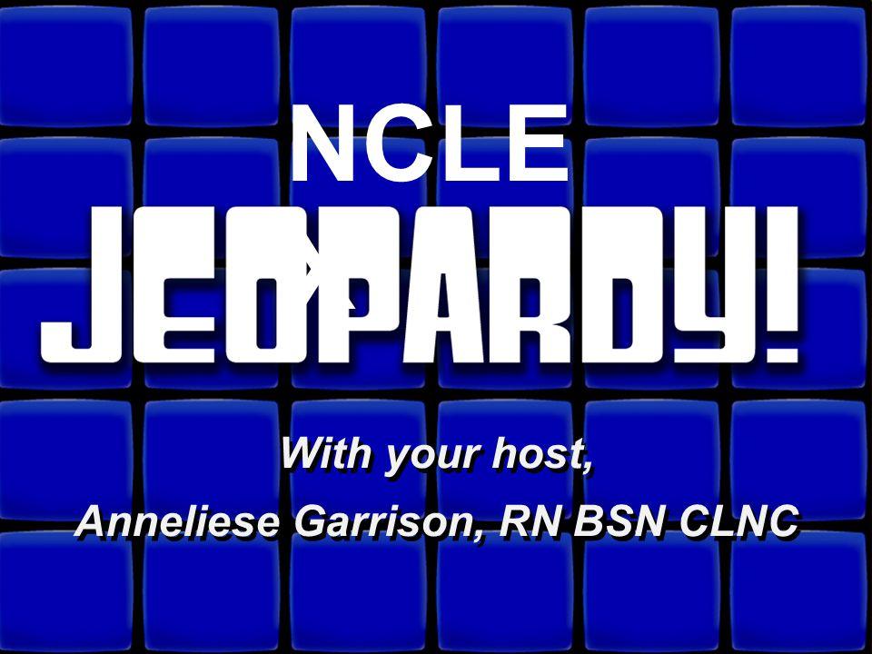 Anneliese Garrison, RN BSN CLNC