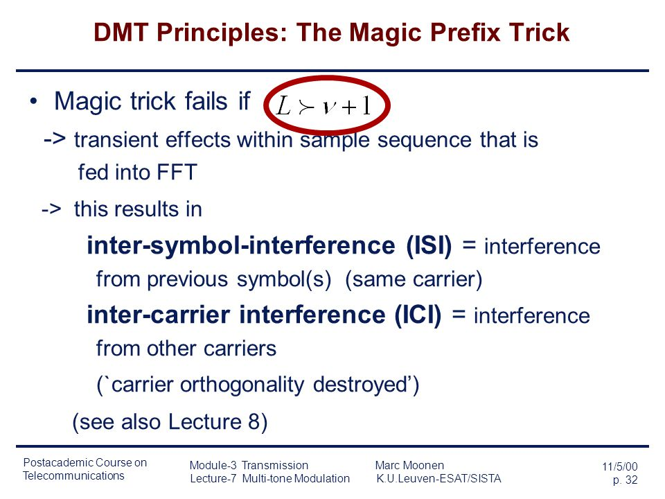 DMT Principles: The Magic Prefix Trick