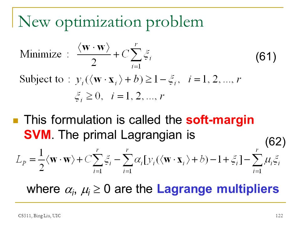New optimization problem