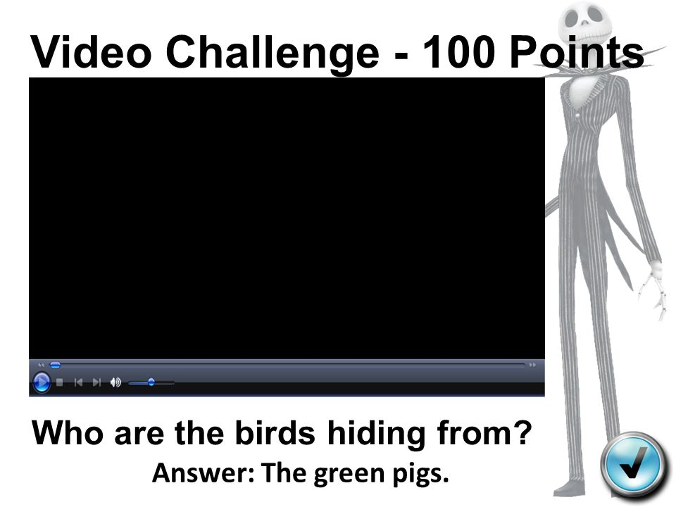 Video Challenge - 100 Points