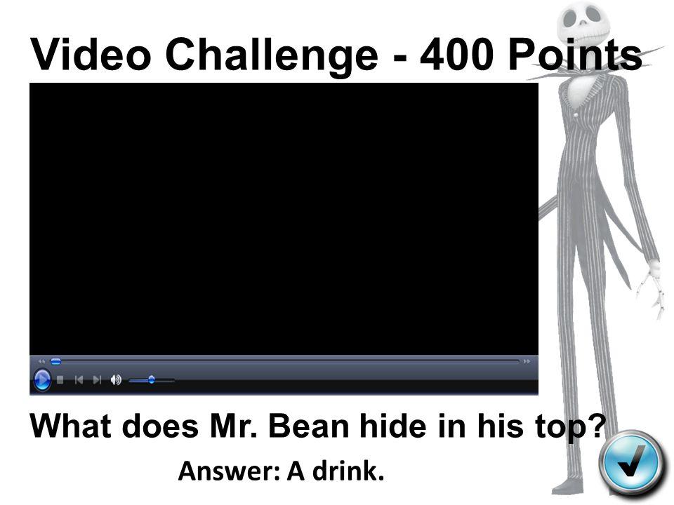 Video Challenge - 400 Points