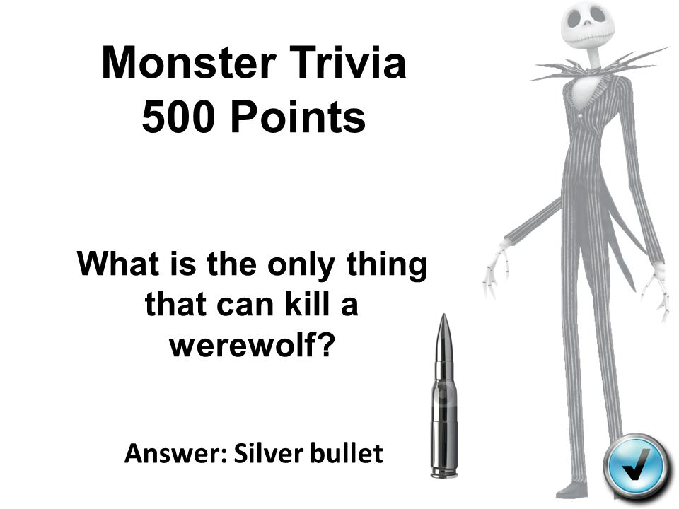 What is the only thing that can kill a werewolf
