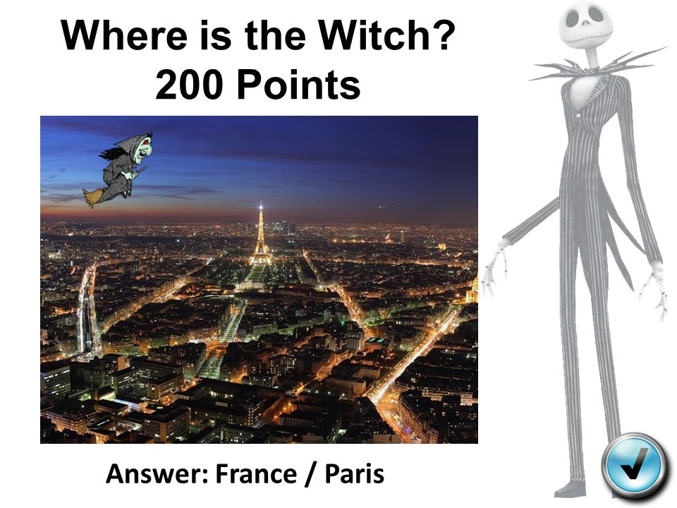 Where is the Witch 200 Points