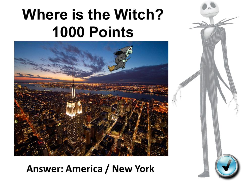 Where is the Witch 1000 Points