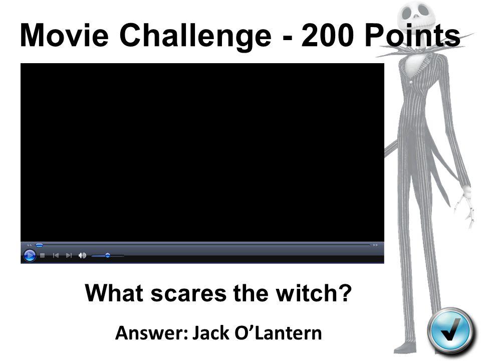 Movie Challenge - 200 Points