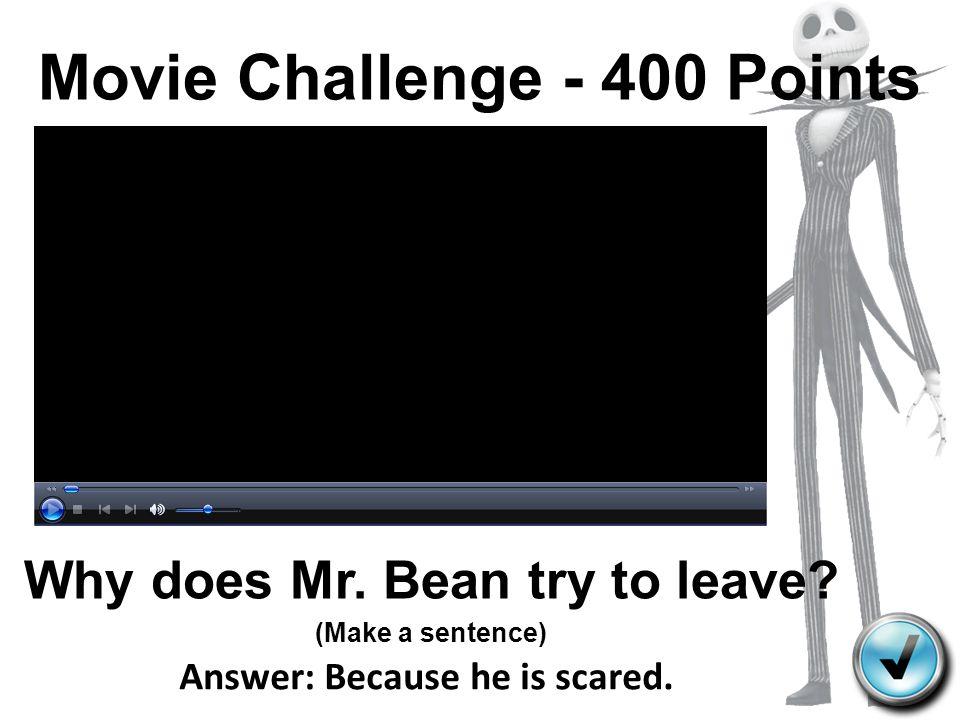 Movie Challenge - 400 Points