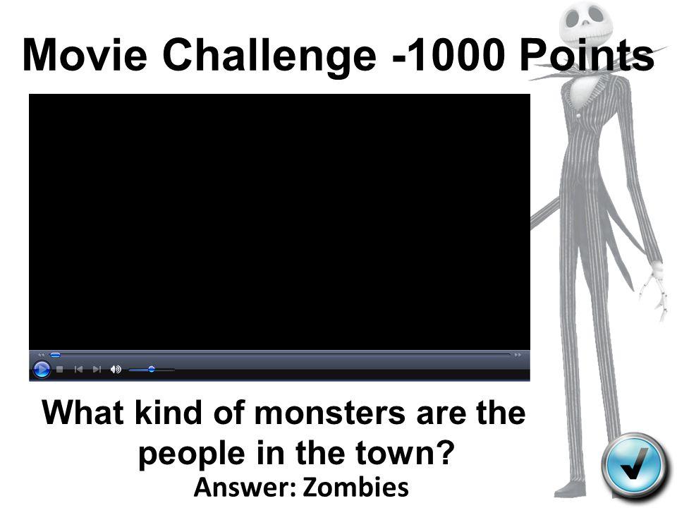 Movie Challenge -1000 Points