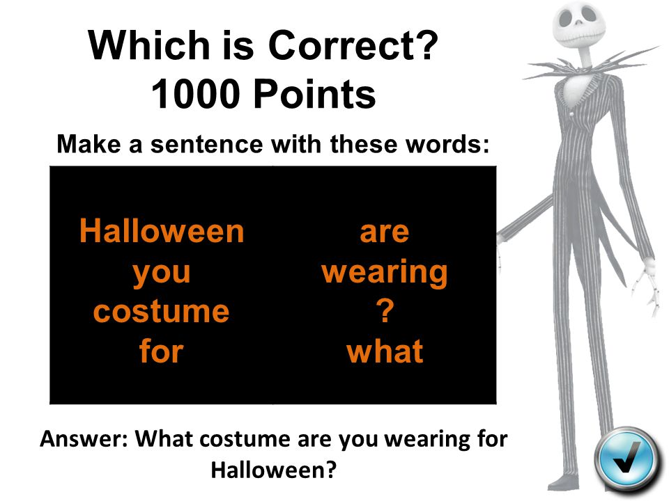 Which is Correct 1000 Points