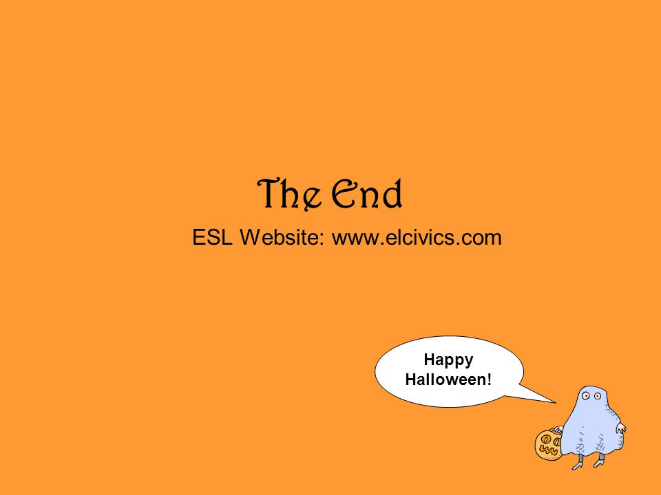 ESL Website: www.elcivics.com