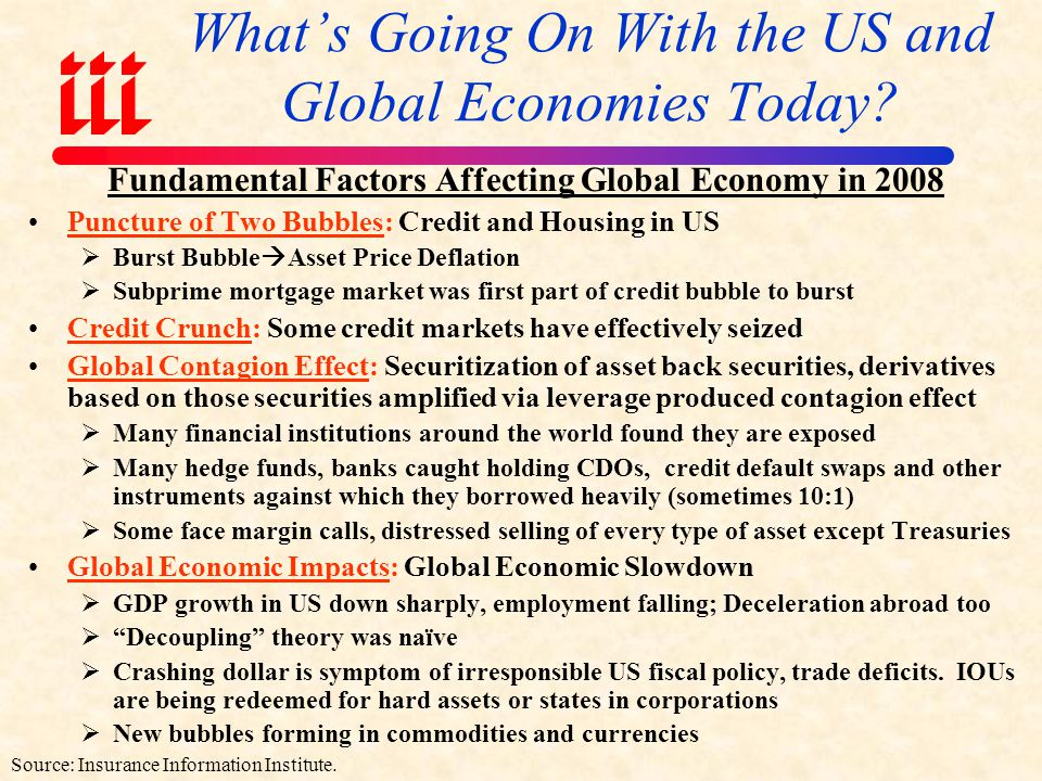 What's Going On With the US and Global Economies Today
