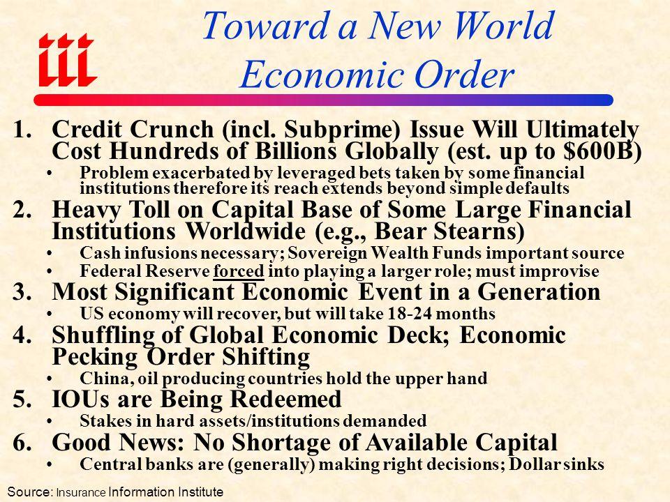 Toward a New World Economic Order