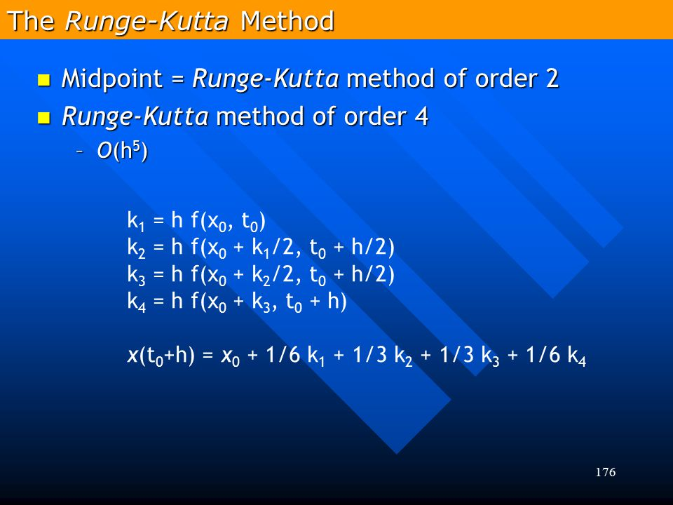 The Runge-Kutta Method