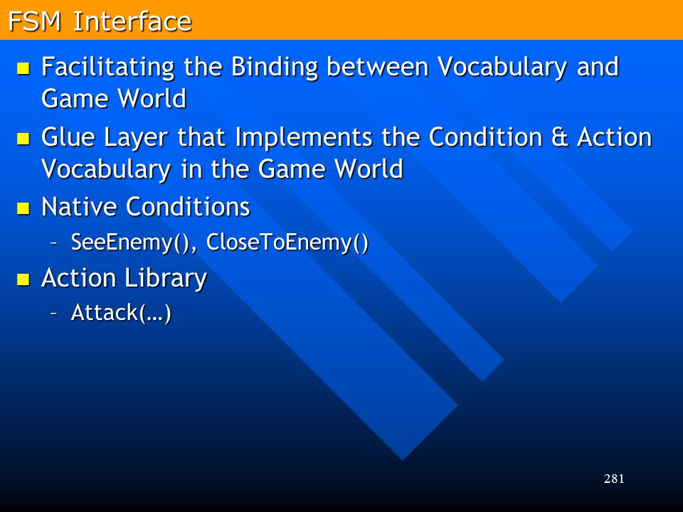 Facilitating the Binding between Vocabulary and Game World