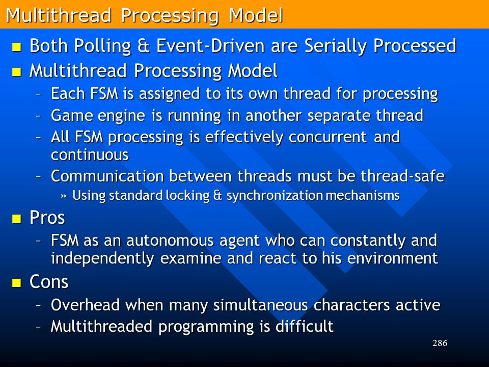 Multithread Processing Model