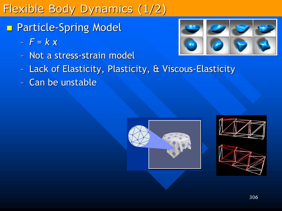 Flexible Body Dynamics (1/2)