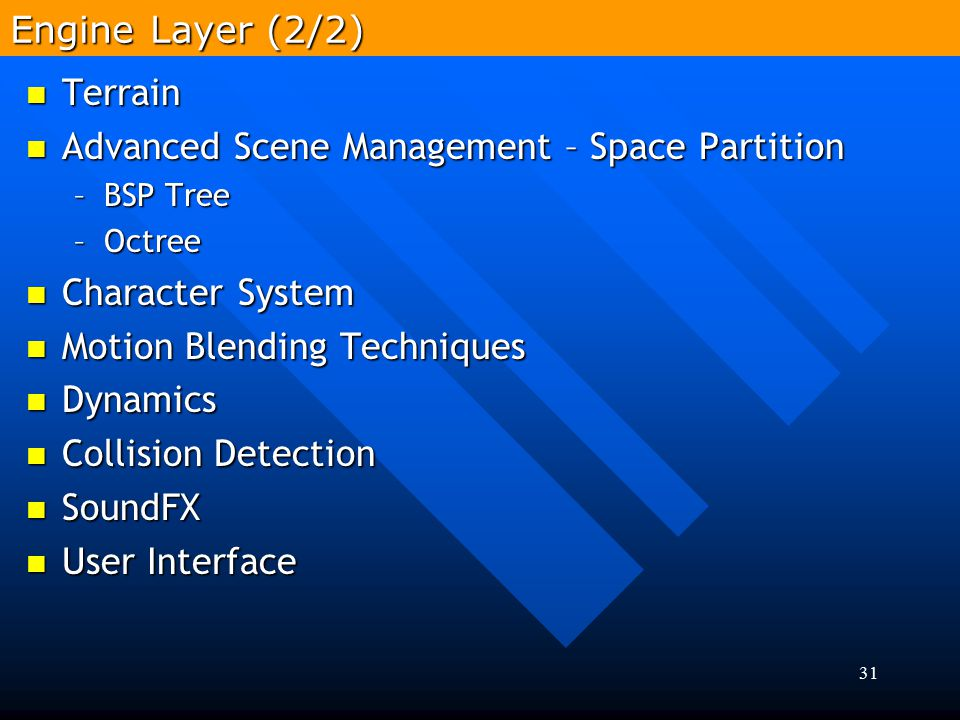 Advanced Scene Management – Space Partition
