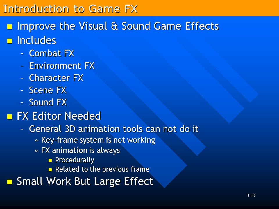 Introduction to Game FX