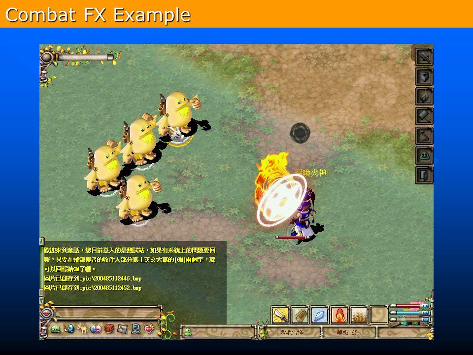 Combat FX Example