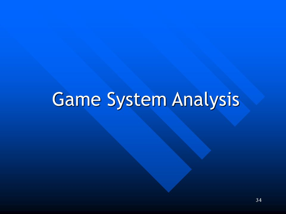 Game System Analysis