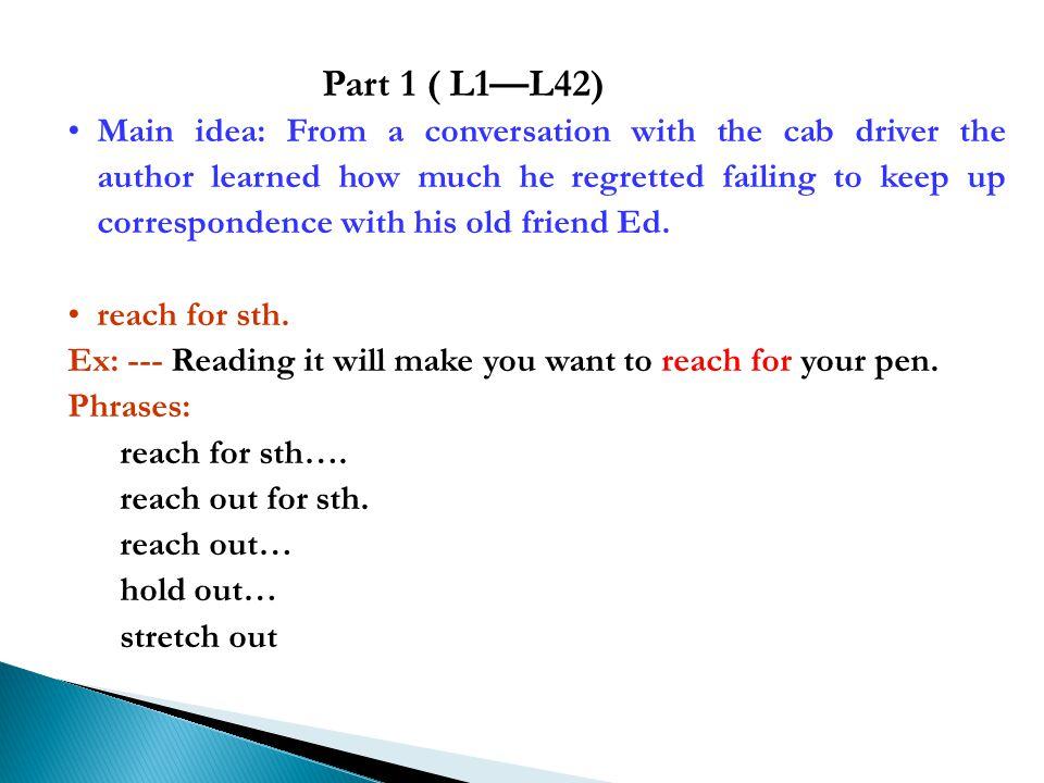Part 1 ( L1—L42)