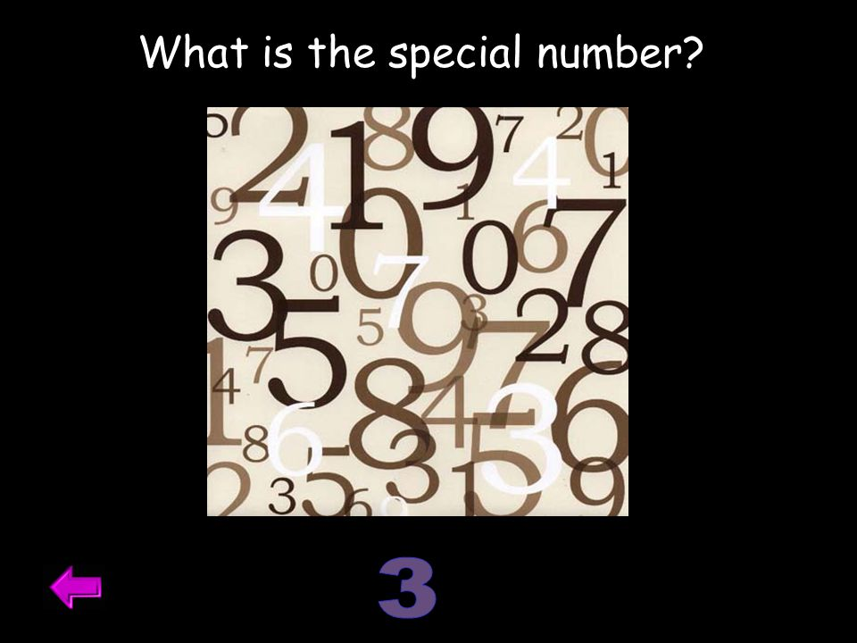 What is the special number