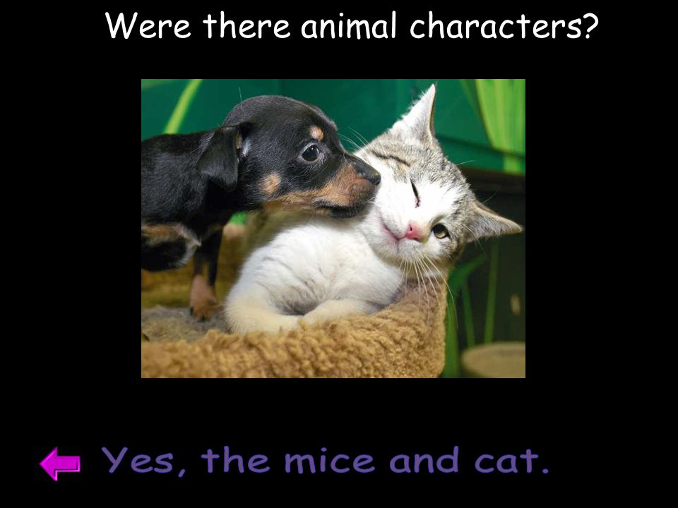 Were there animal characters