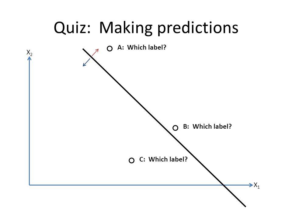 Quiz: Making predictions