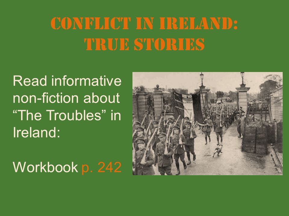Conflict in Ireland: True Stories