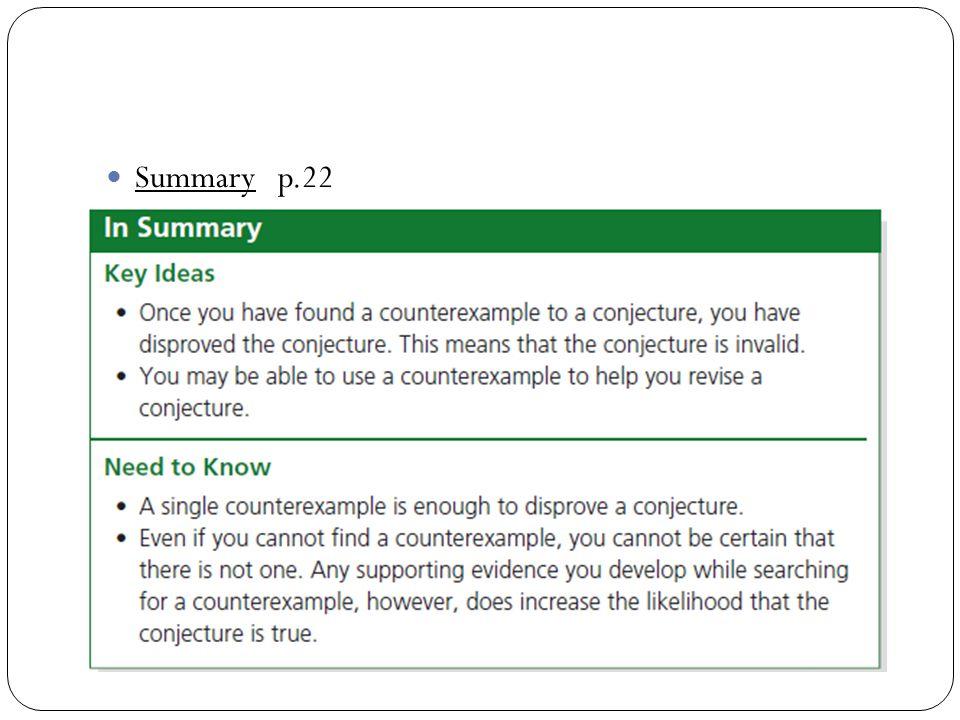 Summary p.22
