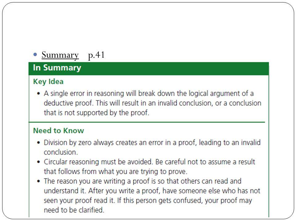 Summary p.41