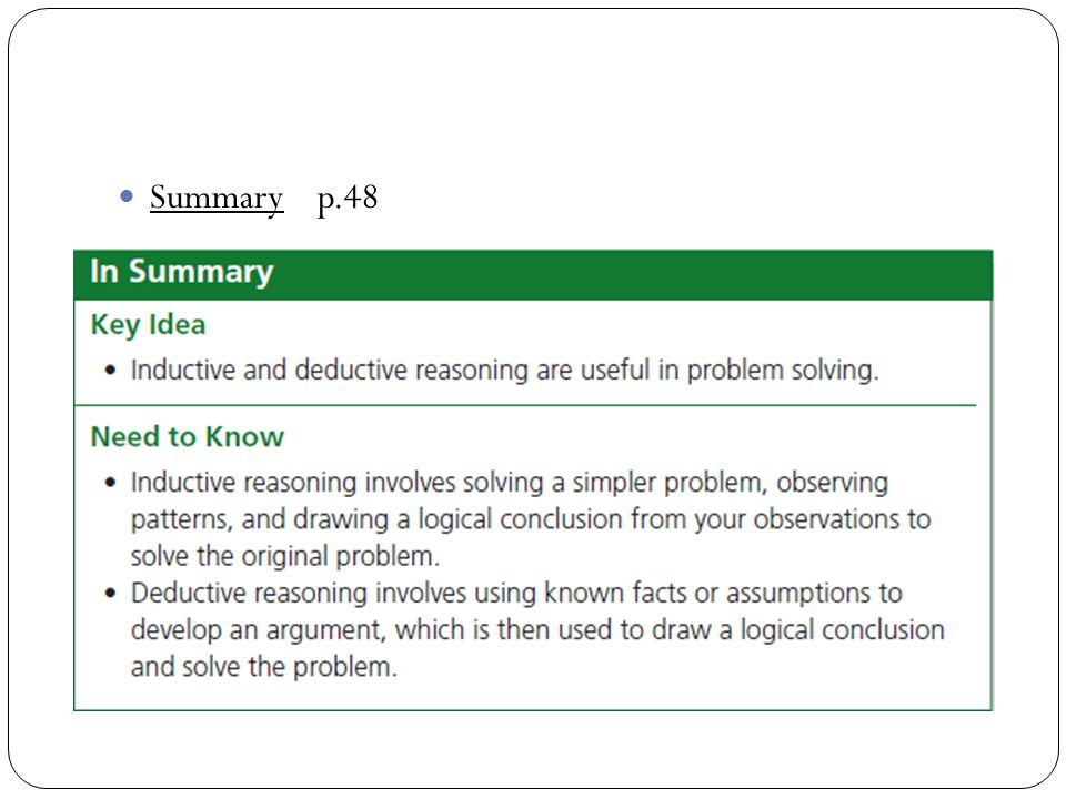 Summary p.48