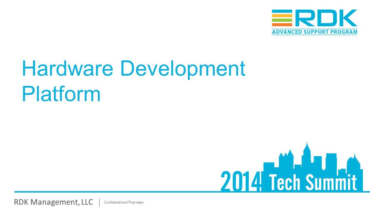 Hardware Development Platform