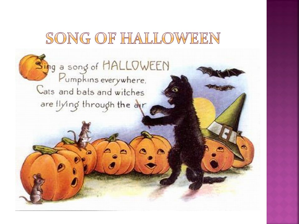 Song of halloween