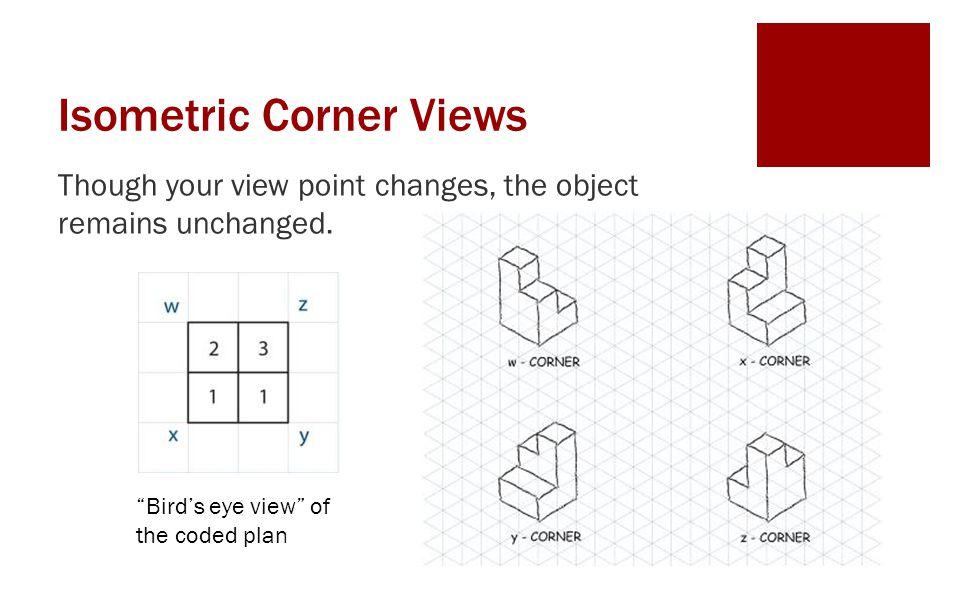 Isometric Corner Views