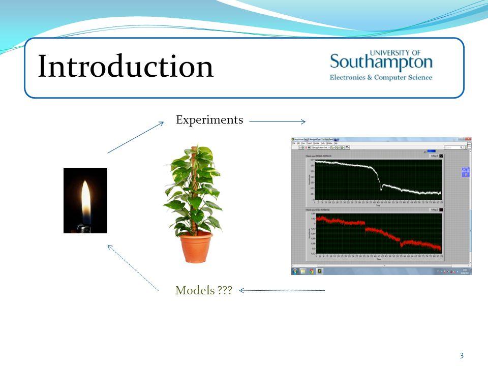 Introduction Experiments Models