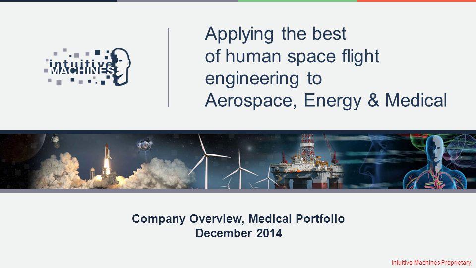 Company Overview, Medical Portfolio December 2014