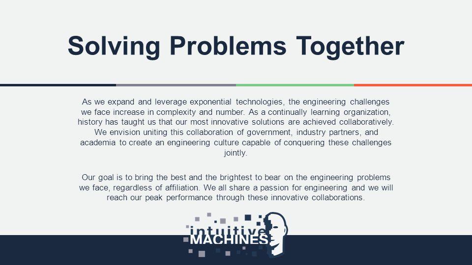 Solving Problems Together