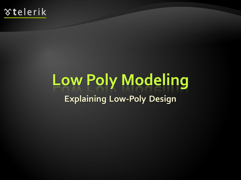 Explaining Low-Poly Design