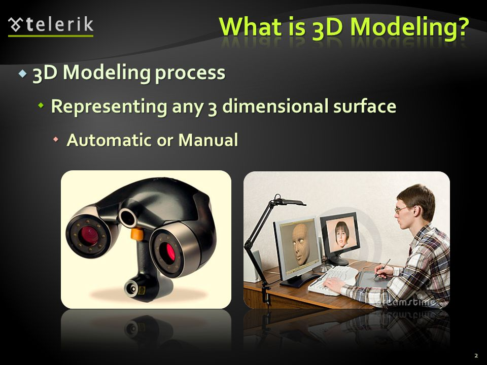 What is 3D Modeling 3D Modeling process