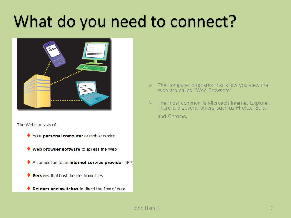 ICT Skills Online Safety John Hamill March 8, 2011